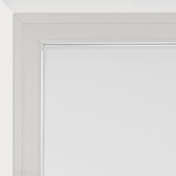 Tendina vetro Leo bianco tunnel 70 x 210 cm