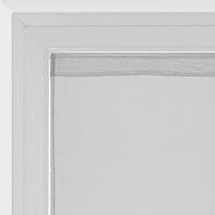 Tendina vetro Leo grigio tunnel 45 x 120 cm