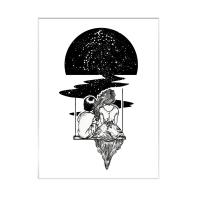 Stampa incorniciata Tramonto 40x50 cm