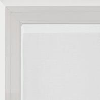 Tendina vetro Penelope bianco e rosso tunnel 100x240 cm