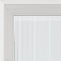 Tendina vetro Picasso bianco tunnel 58x170 cm