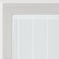 Tendina vetro Picasso bianco tunnel 90 x 240 cm