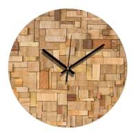 Orologio Wood 34x34 cm