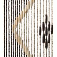Tenda per porta Legno marrone 100x200 cm