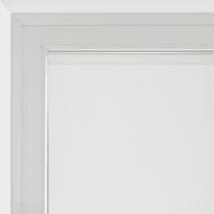 Tendina vetro Siria bianco tunnel 45 x 150 cm