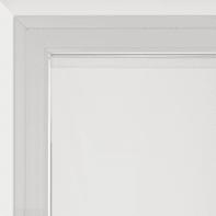 Tendina vetro Siria bianco tunnel 58 x 160 cm