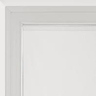 Tendina vetro Siria bianco tunnel 75x230 cm