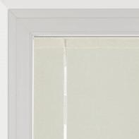 Tendina a vetro regolabile Tambora ecru tunnel 58 x 230 cm