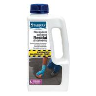 Decapante STARWAX residui cemento, gres, ceramica 1 L