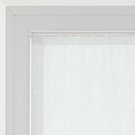Tendina vetro Vittoria bianco tunnel 60x150 cm