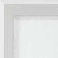 Tendina vetro Vittoria bianco tunnel 60x240 cm