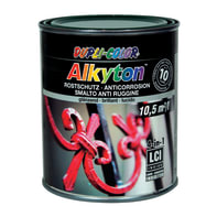 Smalto antiruggine ALKYTON Alkyton verde 0.75 L