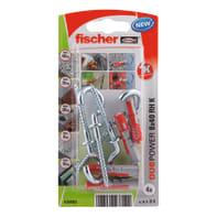 Tassello FISCHER Duopower 8, L 40 mm, Ø 8 mm, 4 pezzi