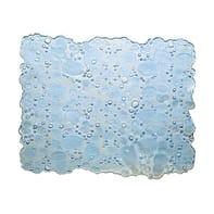Tappeto per lavello plastica trasparente L 31 x H 27 cm