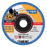 Disco di taglio DEXTER as46tinox per metallo Ø 125 mm