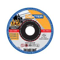 Disco di taglio DEXTER as46tinoxc+g per inossidabile Ø 115 mm