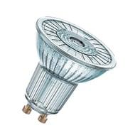 Lampadina LED GU10, Faretto, Trasparente, Bianco, Luce naturale, 4.6W=350LM (equiv 50 W), 36° , OSRAM , set di 2 pezzi