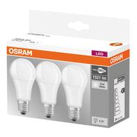 Lampadina LED E27, Goccia, Opaco, Bianco, Luce naturale, 13W=1521LM (equiv 100 W), 180° , OSRAM , set di 3 pezzi