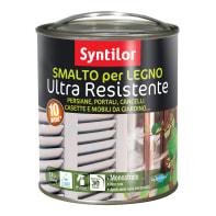 Smalto per legno da esterno base acqua SYNTILOR rosso 2.5 L