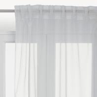 Tenda INSPIRE Lolly bianco arricciatura 140 x 280 cm