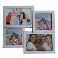 Cornice multifoto Easy4 bianco 4 foto