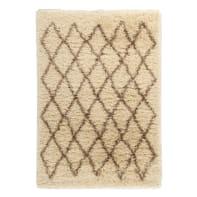 Tappeto Beni ourain , beige, 160x230