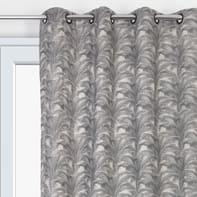 Tenda Botany grigio occhielli 138 x 280 cm