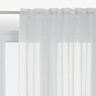 Tenda INSPIRE Softy bianco fettuccia e passanti 200 x 280 cm