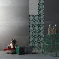 Mosaico Tourquoise mix H 30 x L 30 cm azzurro