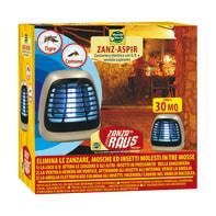 Elettro sterminatore per zanzare, vespe, calabroni ZANZASPIR