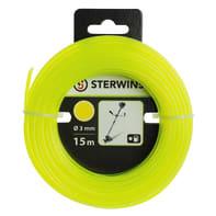 Bobina di filo STERWINS per decespugliatore L 15 m Ø 3 mm