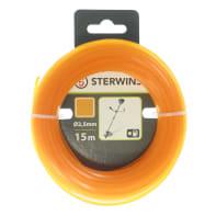 Bobina di filo STERWINS per decespugliatore L 15 m Ø 2.5 mm