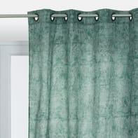Tenda Sveva verde occhielli 140 x 290 cm