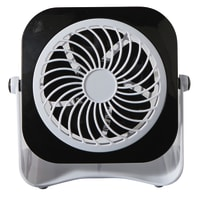 Mini ventilatore EQUATION Yea  nero 3.0 W Ø 10.0 cm