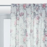 Tenda Vera rosa passanti nascosti 140 x 290 cm