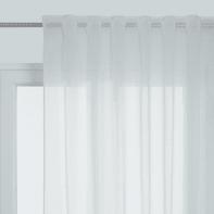 Tenda Lucia bianco passanti nascosti 140 x 300 cm
