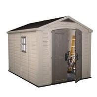 Casetta da giardino in resina Factor 8x11 KETER 7.39 m² spessore 16 mm
