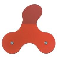 Appendiabiti Element in ferro rosso