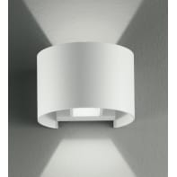 Applique Delta LED integrato in alluminio, bianco, 3W 500LM IP54