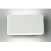 Applique led integrato gamma LED integrato in alluminio, bianco, 10W 1080LM IP54