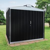 Garage in acciaio al carbonio Atlanta SAPIL 2.84 m², Sp 0.6 mm