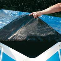 Copertura per piscina in polietilene 560 x 305 cm