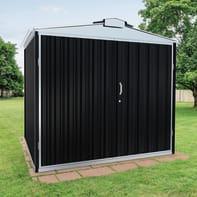 Casetta da giardino in acciaio zincato Atlanta,  superficie interna 5.78 m² e spessore parete 0.6 mm