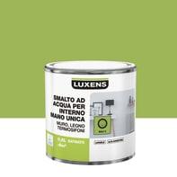 Vernice di finitura LUXENS Manounica base acqua verde bali 3 satinato 0.5 L