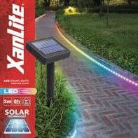 Striscia led LSBK3SOLARRVB 3m luce rgb 20LM IP44 XANLITE