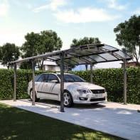 Carport in alluminio SienaL 500  x P 362  x H 242