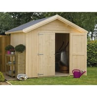 Casetta da giardino in legno Melk,  superficie interna 5.59 m² e spessore parete 19 mm