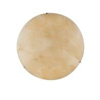 Plafoniera classico Canova LED integrato ambrato, in vetro,  D. 45 cm