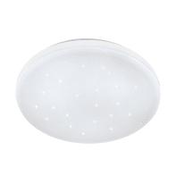 Plafoniera Frania bianco, in acciaio, diam. 43 , IP20 EGLO