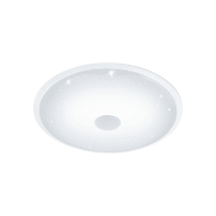 Plafoniera Lanciano bianco, in plastica, diam. 66 , IP20 EGLO